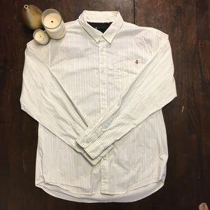Volcom Button Down Dress Shirt XL